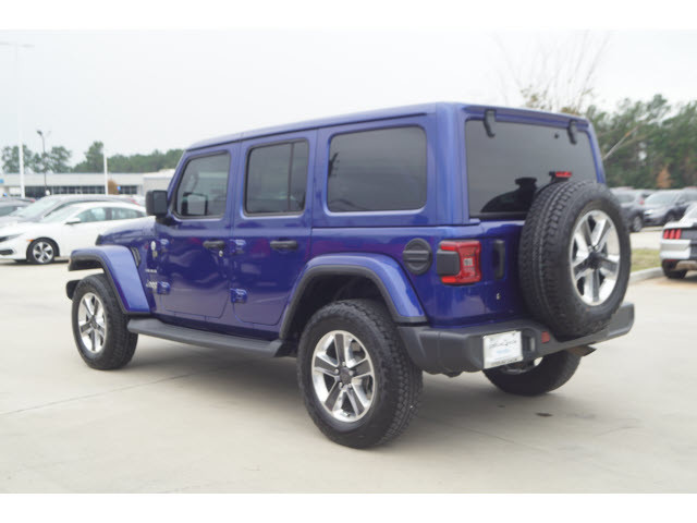 Pre-Owned 2018 Jeep Wrangler Unlimited Sahara