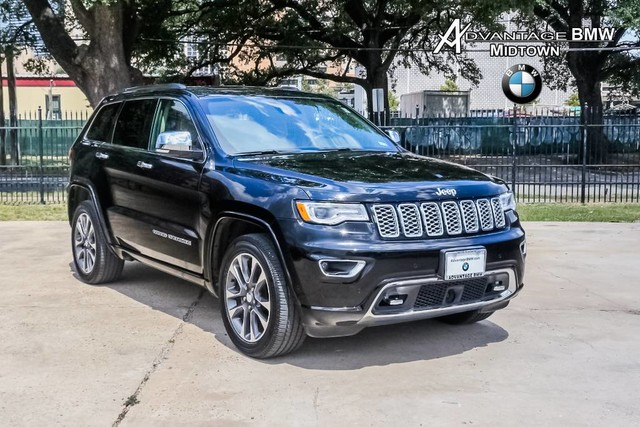 Jeep Grand Cherokee Overland >> Pre Owned 2017 Jeep Grand Cherokee Overland Offsite Location