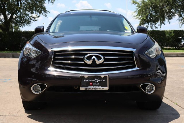 Pre-Owned 2014 INFINITI QX70 Deluxe Touring w/ Premium Package