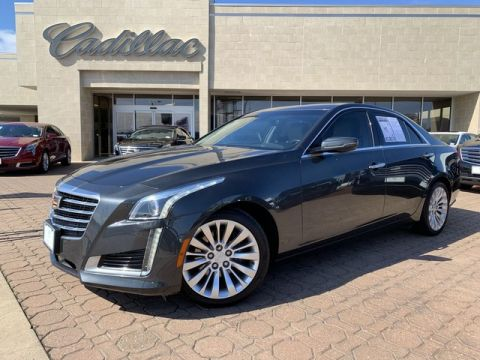 Pre-Owned 2017 Cadillac CTS Sedan Luxury AWD