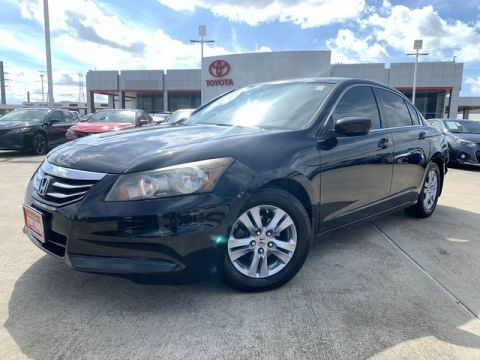 Pre-Owned 2012 Honda Accord Sdn SE
