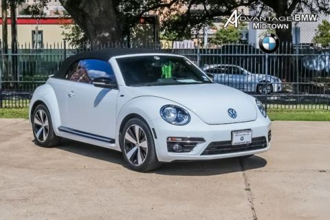 Pre-Owned 2015 Volkswagen Beetle Convertible 2.0T R-Line