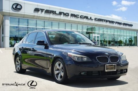 Pre-Owned 2007 BMW 5 Series 525i